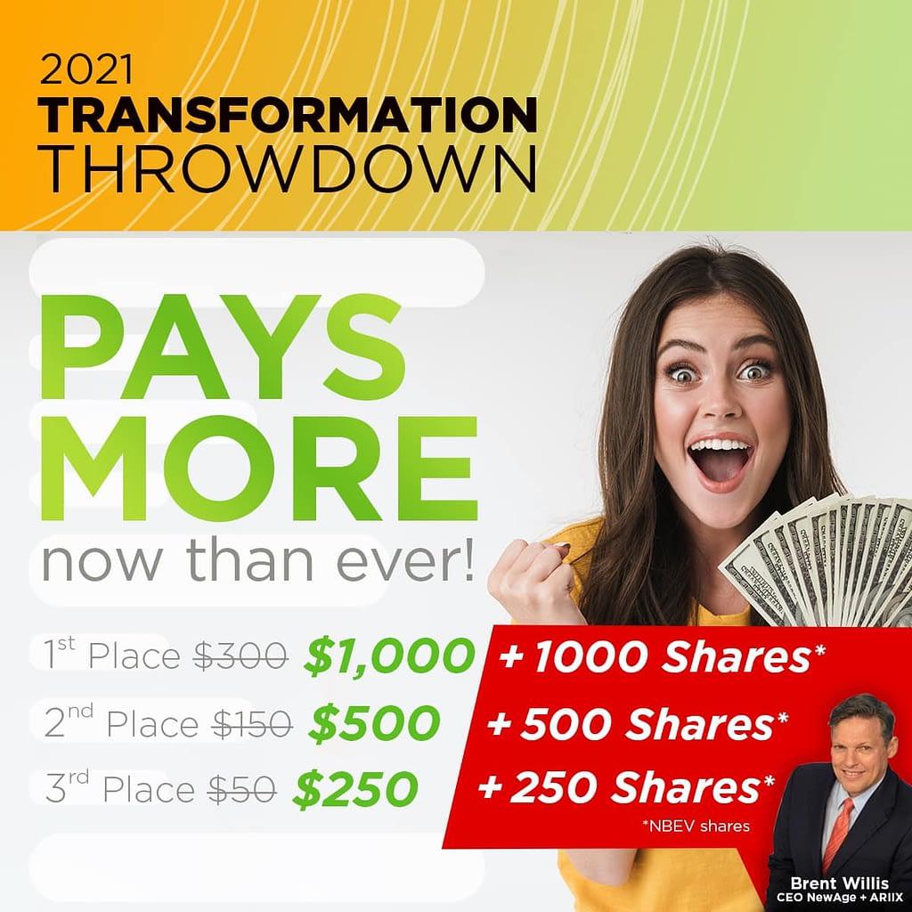 2021 Transformation Throwdown 3