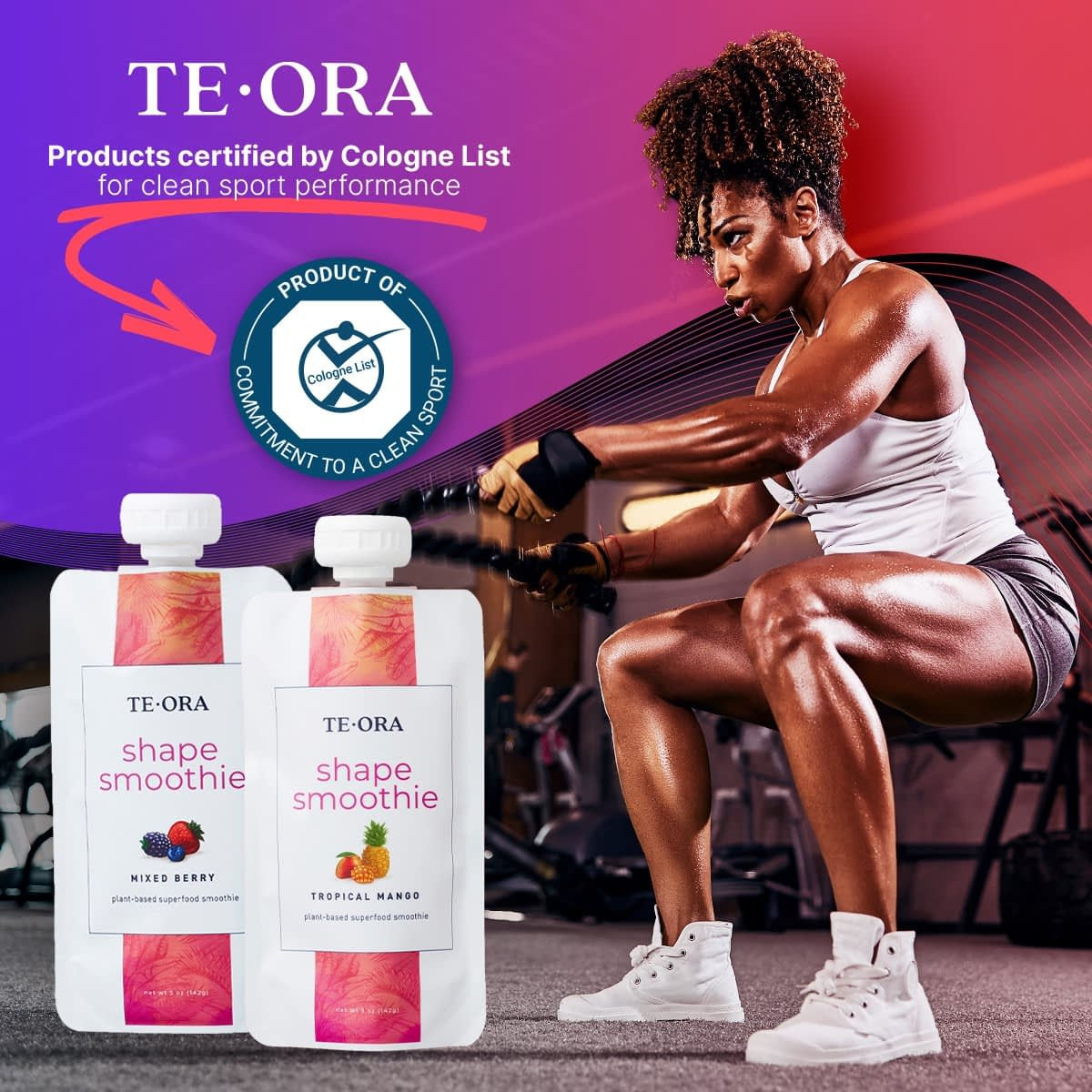 Te-Ora Products Certified by Cologne List