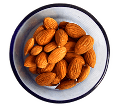 almonds - best sources of magnesium