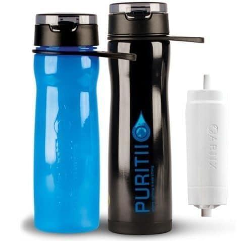 puritii water bottle