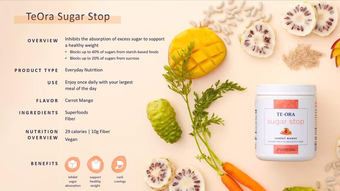 TeOra Sugar Stop