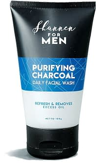 Facewash for Men with Active Charcoal